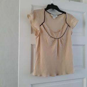 New Allison Taylor 100% Silk Blouse